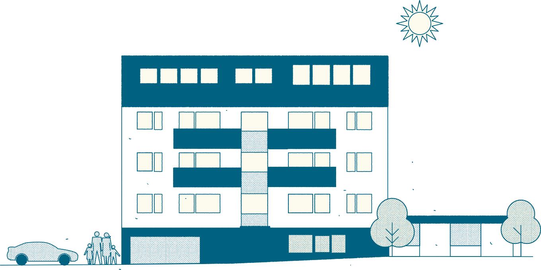 Immobilienprojekt Taglieberstrasse, Mauer - Liesing